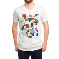 les champs de mondrian - vneck - small view
