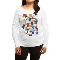 les champs de mondrian - womens-long-sleeve-terry-scoop - small view