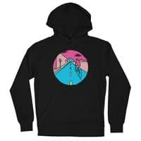 Silent ride - unisex-lightweight-pullover-hoody - small view