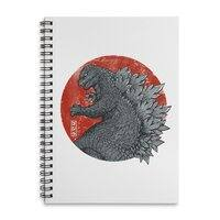 Tokyo Kaiju - spiral-notebook - small view