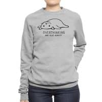 Overthinking and also Hungry - crew-sweatshirt - small view