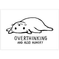 Overthinking and also Hungry - horizontal-print - small view