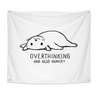 Overthinking and also Hungry - indoor-wall-tapestry - small view