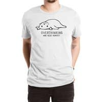 Overthinking and also Hungry - mens-extra-soft-tee - small view