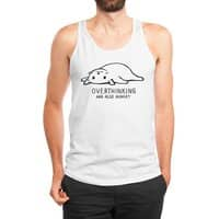 Overthinking and also Hungry - mens-jersey-tank - small view