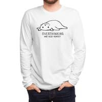 Overthinking and also Hungry - mens-long-sleeve-tee - small view
