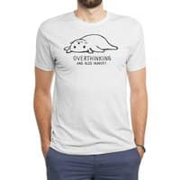 Overthinking and also Hungry - mens-triblend-tee - small view