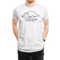 Overthinking and also Hungry - mens-regular-tee - small view