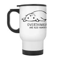 Overthinking and also Hungry - travel-mug-with-handle - small view