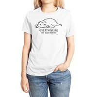 Overthinking and also Hungry - womens-extra-soft-tee - small view