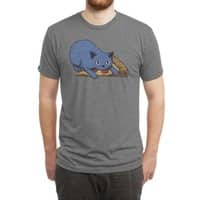 Get your own pizza, human! - mens-triblend-tee - small view