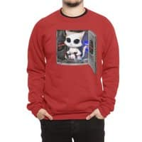 Cat Piloted Cyborg - crew-sweatshirt - small view