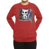 Cat Piloted Cyborg - crew-sweatshirt - small view