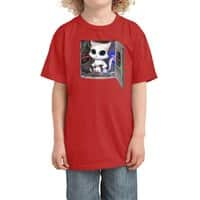 Cat Piloted Cyborg - kids-tee - small view