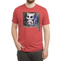 Cat Piloted Cyborg - mens-triblend-tee - small view