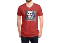 Cat Piloted Cyborg - vneck - small view