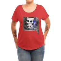 Cat Piloted Cyborg - womens-dolman - small view