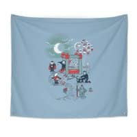 THE FUN IS HERE IN CASTLEMANIA - indoor-wall-tapestry - small view