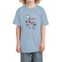 THE FUN IS HERE IN CASTLEMANIA - kids-tee - small view