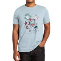 THE FUN IS HERE IN CASTLEMANIA - mens-extra-soft-tee - small view