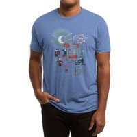 THE FUN IS HERE IN CASTLEMANIA - mens-triblend-tee - small view