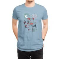 THE FUN IS HERE IN CASTLEMANIA - mens-regular-tee - small view