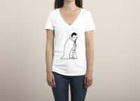 Little Dracula - womens-deep-v-neck - small view