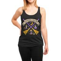 Coven Club - womens-triblend-racerback-tank - small view