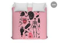 Whole Lotta Horror - duvet-cover - small view
