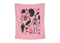 Whole Lotta Horror - indoor-wall-tapestry-vertical - small view
