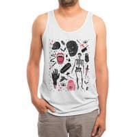 Whole Lotta Horror - mens-triblend-tank - small view