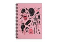Whole Lotta Horror - spiral-notebook - small view