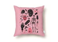 Whole Lotta Horror - throw-pillow - small view