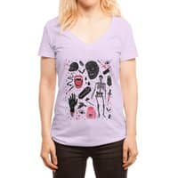 Whole Lotta Horror - womens-deep-v-neck - small view