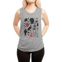 Whole Lotta Horror - womens-muscle-tank - small view