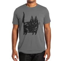 Fatty cat - mens-extra-soft-tee - small view