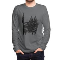 Fatty cat - mens-long-sleeve-tee - small view