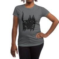 Fatty cat - womens-regular-tee - small view
