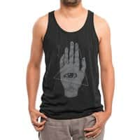 Witch Hand - mens-triblend-tank - small view