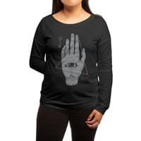 Witch Hand - womens-long-sleeve-terry-scoop - small view