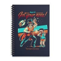 Got your Nose - spiral-notebook - small view