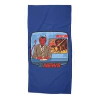 Breaking News - beach-towel - small view