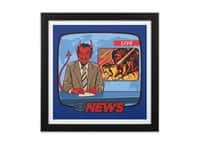 Breaking News - black-square-framed-print - small view