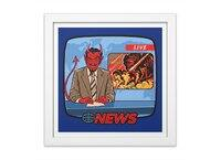 Breaking News - white-square-framed-print - small view