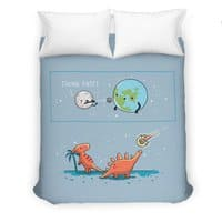 Think fast - duvet-cover - small view