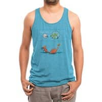 Think fast - mens-triblend-tank - small view