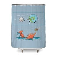 Think fast - shower-curtain - small view