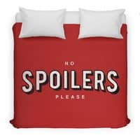 No Spoilers - duvet-cover - small view