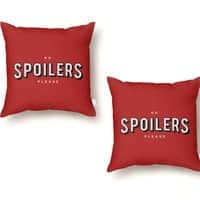 No Spoilers - throw-pillow - small view