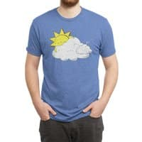 Partly Hungry Skies - mens-triblend-tee - small view